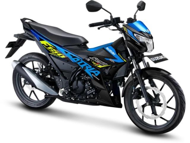 Chi tiết các phiên bản 2021 Suzuki Satria F150 giá 40,1 triệu đồng