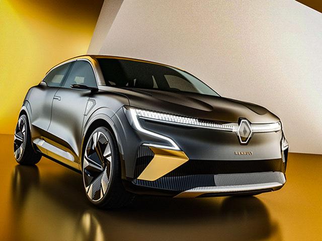 Renault Megane xe động cơ điện đầu tiên đến từ nước Pháp