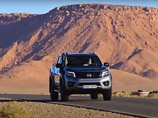 Nissan Navara 2021 rò rỉ hình ảnh ngoại thất trước ngày ra mắt