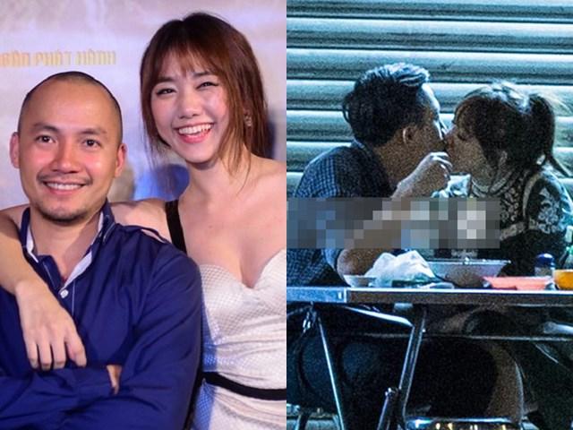 """Hari Won lộ ảnh """"khóa môi"""" Trấn Thành khi vừa chia tay Tiến Đạt: Sự thật bất ngờ"""