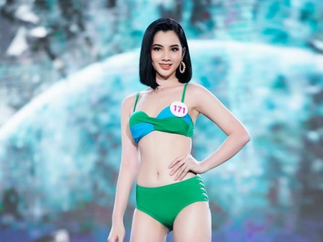 Nữ sinh An Giang 18 tuổi thi hoa hậu: Dáng đẹp nổi trội, fan nô nức xin cưới