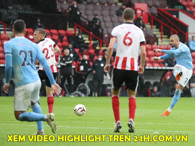 Trực tiếp bóng đá Sheffield United - Man City: Đội khách chơi phòng ngự phản công