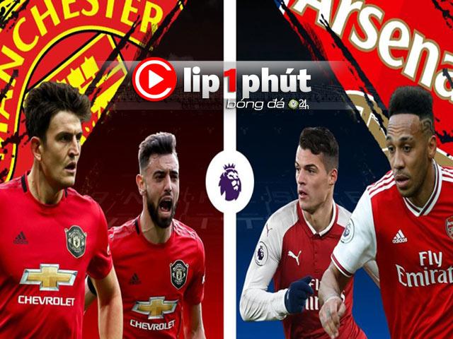 MU thăng hoa Cúp C1 có đè bẹp đại kình địch Arsenal? (Clip 1 phút Bóng đá 24H)