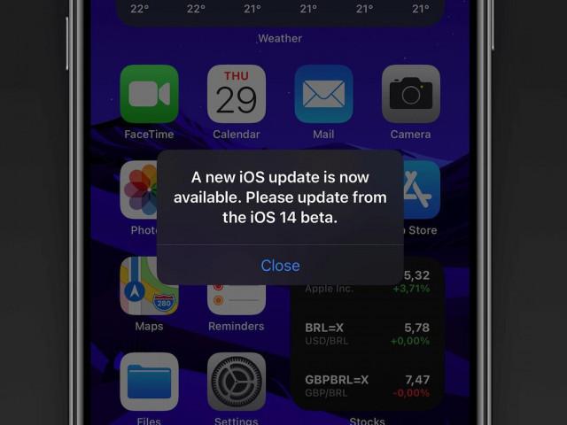 Apple phát hành iOS 14.2 sửa lỗi thông báo cập nhật
