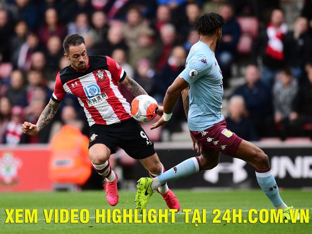Trực tiếp bóng đá Aston Villa - Southampton: Barkley tiếp tục đá chính cặp Grealish