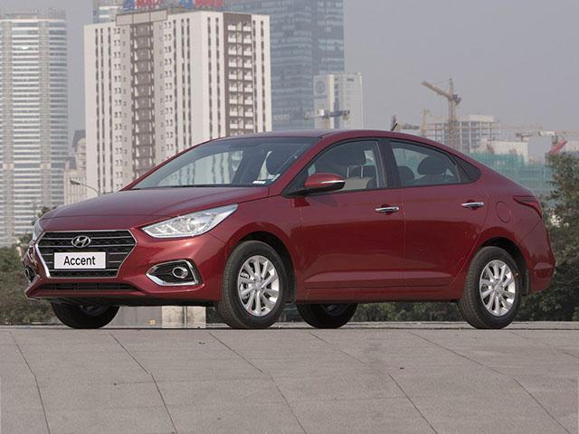 Giá lăn bánh xe Hyundai Accent mới nhất tháng 11/2020