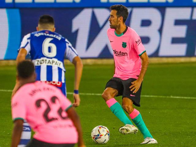 Trực tiếp bóng đá Alaves - Barcelona: Những phút cuối nghẹt thở (Hết giờ)