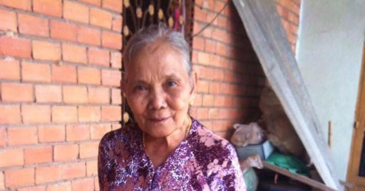 Cụ bà 79 tuổi mất tích khi trên người đeo nhiều vàng