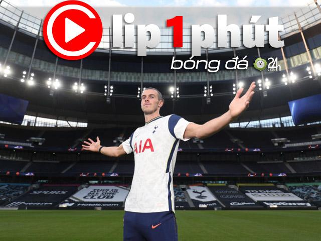 """Bale tỏa sáng ở Tottenham: Có vượt Kane trở thành """"ông trùm"""" mới? (Clip 1 phút Bóng đá 24H)"""
