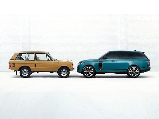 Range Rover Fifty sản xuất giới hạn 1970 chiếc, giá từ 7,7 tỷ đồng