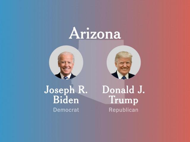 """Số phiếu ủng hộ ông Trump tại bang Arizona tăng, liệu có khả năng """"lội ngược dòng""""?"""