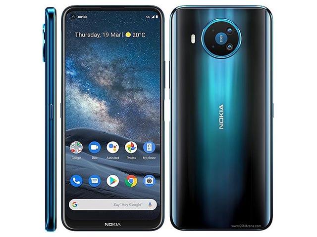 Lộ diện Nokia 8 V với kết nối 5G nhanh bứt phá