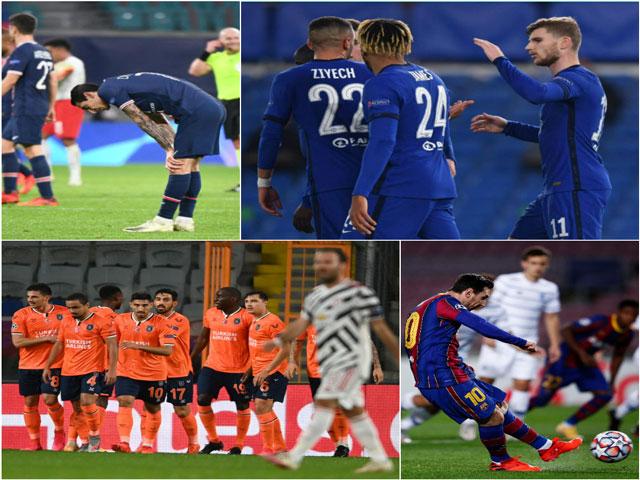 Rực lửa vòng bảng Cúp C1: MU - PSG gây sốc, Juventus & Chelsea thắng đậm