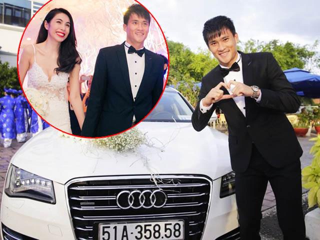 Đám cưới Công Vinh, Thủy Tiên 6 năm trước: Nhẫn cưới 1 tỷ, dàn siêu xe 20 tỷ gây chấn động