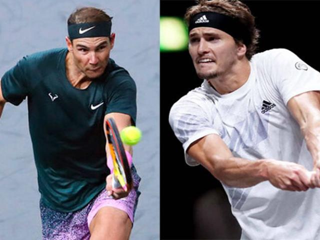 Video tennis Nadal - Zverev: Địa chấn ngỡ ngàng, nỗi sầu tê tái (Bán kết Paris Masters)