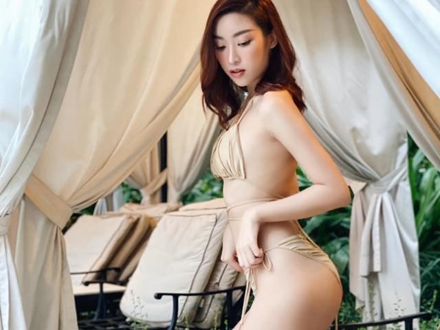 Đỗ Mỹ Linh, Tiểu Vy gây sốt khi thử áo tắm bé tí xíu, gợi cảm quá đỗi