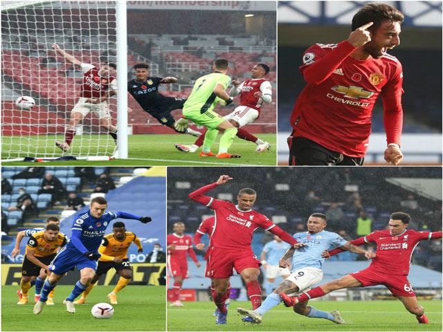 Gay cấn bảng xếp hạng Ngoại hạng Anh: Liverpool mất ngôi đầu, MU - Man City ở đâu?