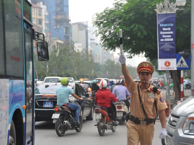 Hà Nội cấm một số tuyến đường phục vụ Hội nghị cấp cao ASEAN 37