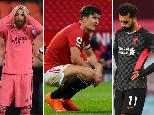Bóng đá châu Âu khốc liệt: Liverpool thua 2-7, MU thua 1-6 sốc nhất mùa