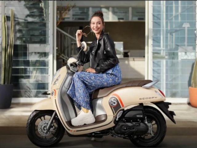 """Chi tiết 4 phiên bản 2021 Honda Scoopy đẹp như """"bỏ bùa"""" phái nữ"""
