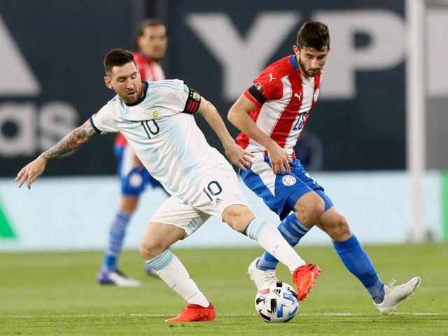 Video highlight trận Argentina - Paraguay: Penalty tai hại, kết cục ngỡ ngàng