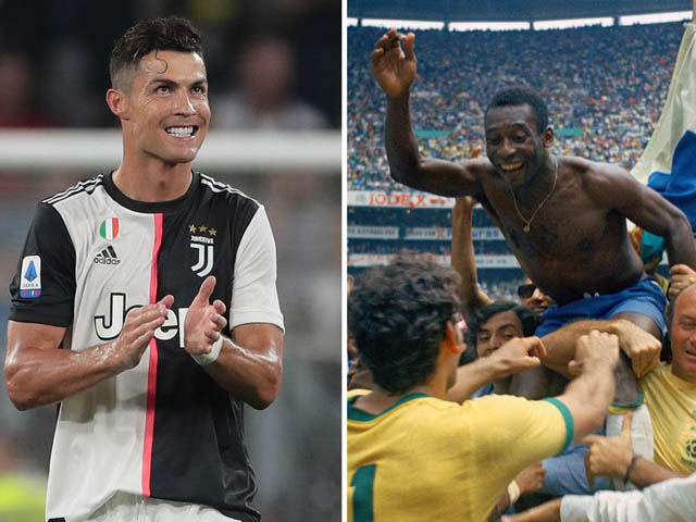 """Ronaldo được dự đoán đá tới 41 tuổi, vượt """"Vua"""" Pele ghi bàn số 1 lịch sử"""