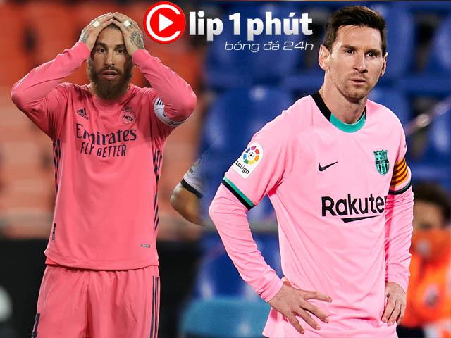 Real - Barca giờ nghèo túng, Messi và dàn SAO tháo chạy hàng loạt? (Clip 1 phút Bóng đá 24H)