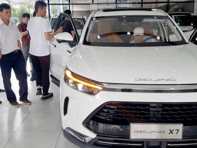 """Ô tô Trung Quốc liệu có """"cửa"""" tại thị trường Việt Nam?"""
