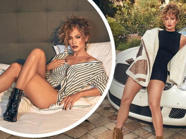 Jennifer Lopez 51 tuổi mặc áo tắm hở bạo
