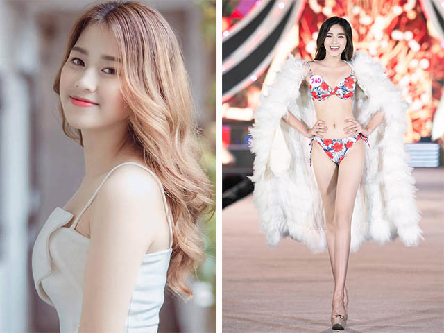 Nhan sắc quyến rũ, thần thái cuốn hút, nữ sinh thi Hoa Hậu Việt Nam liên tục gây sốt