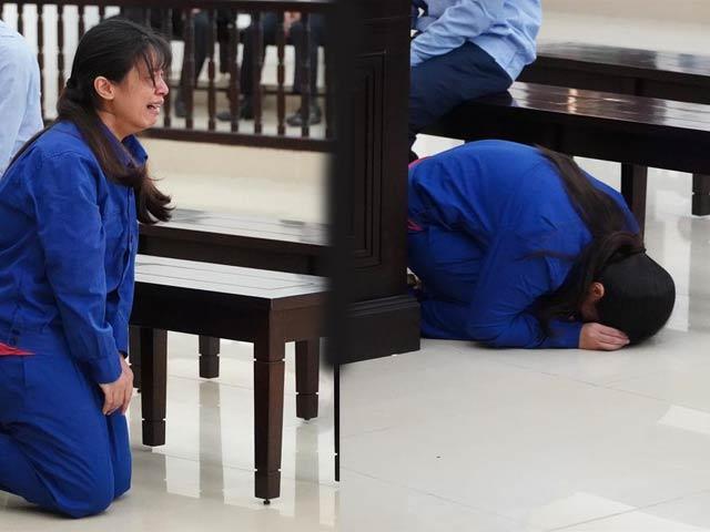Vụ bé gái 3 tuổi bị bạo hành tử vong: VKS đề nghị mức án, bị cáo quỳ khóc xin lỗi mẹ