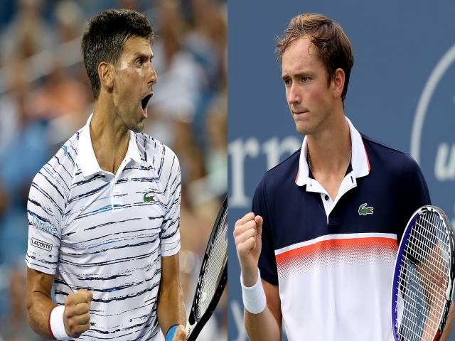 Video tennis Djokovic - Medvedev: 2 set chấn động, số 1 thế giới quỵ ngã (ATP Finals)