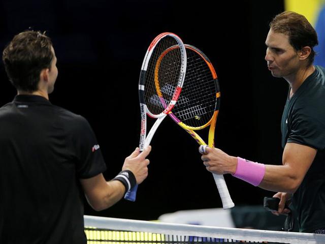 """Nadal thua Thiem ở ATP Finals: """"Bò tót"""" gặp khó, nói gì sau trận đấu?"""