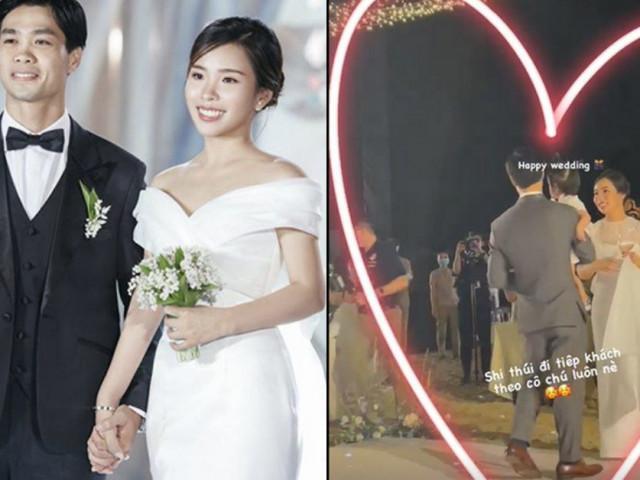 Công Phượng âu yếm cưng chiều một bé gái giấu mặt trong đám cưới, danh tính cực khủng