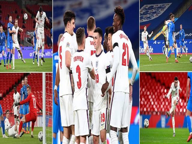 """Video highlight trận Anh - Iceland: Đại thắng """"4 sao"""", lời chào cay đắng"""