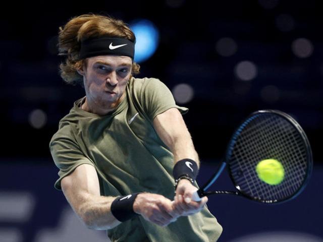 Video tennis Dominic Thiem - Andrey Rublev: Giao bóng thần sầu, thắng lợi thuyết phục