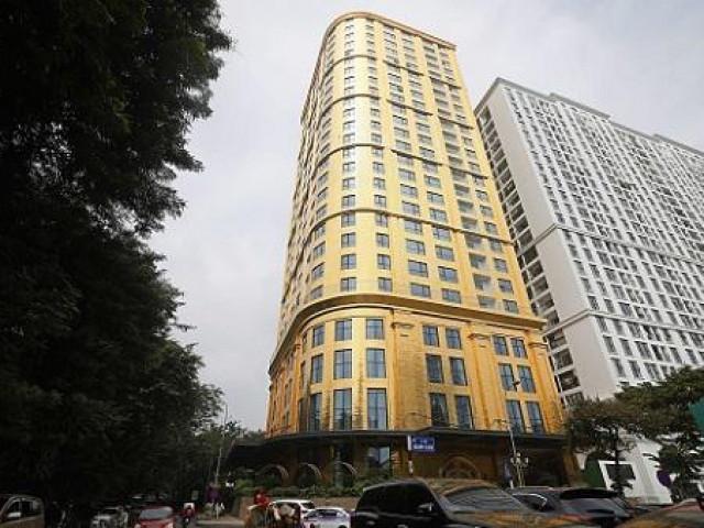 """""""Tòa nhà dát vàng"""" ở Hà Nội được lên báo Trung Quốc có gì đặc biệt?"""