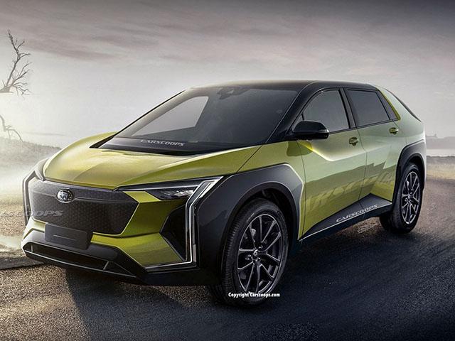 Evoltis chiếc SUV điện đầu tiên của Subaru sắp hoàn thiện