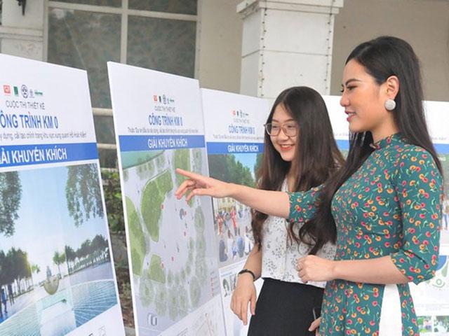 Hà Nội xin ý kiến người dân về cột mốc km0 ở Hồ Gươm