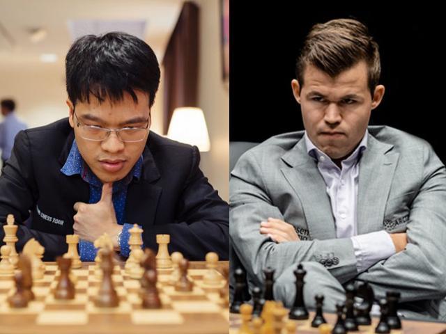 Quang Liêm đấu Vua cờ Carlsen ở giải gồm 16 cao thủ hàng đầu hành tinh