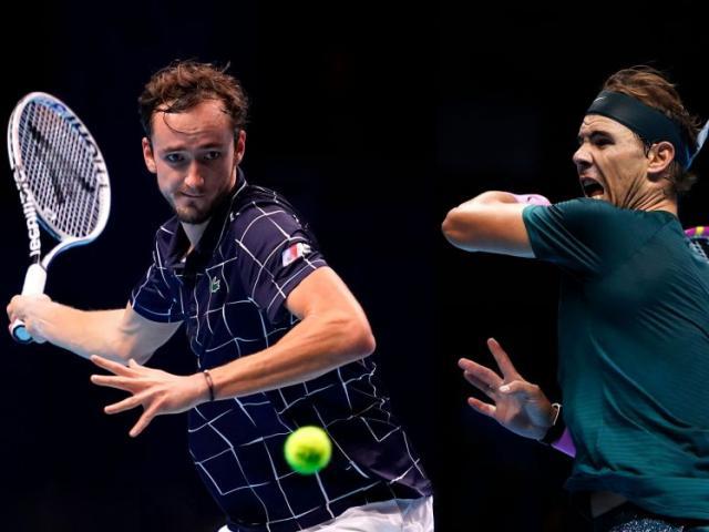 Video tennis Medvedev - Nadal: Sai lầm tai hại, trả giá quá đắt (Bán kết ATP Finals)