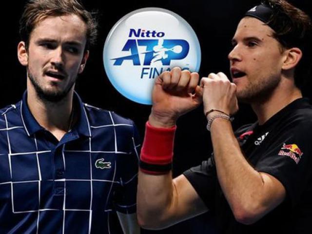 Chung kết ATP Finals: Thiem thư hùng Medvedev, chờ tiệc mừng đón tân vương