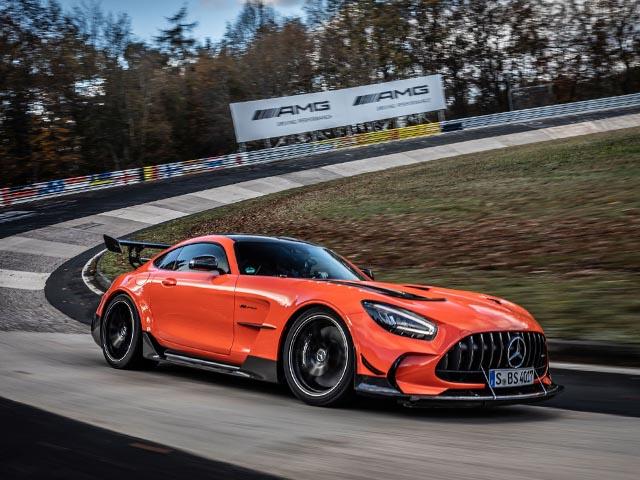Mercedes-AMG GT Black Series lập kỷ lục tốc độ tại đường đua địa ngục xanh Nurburgring