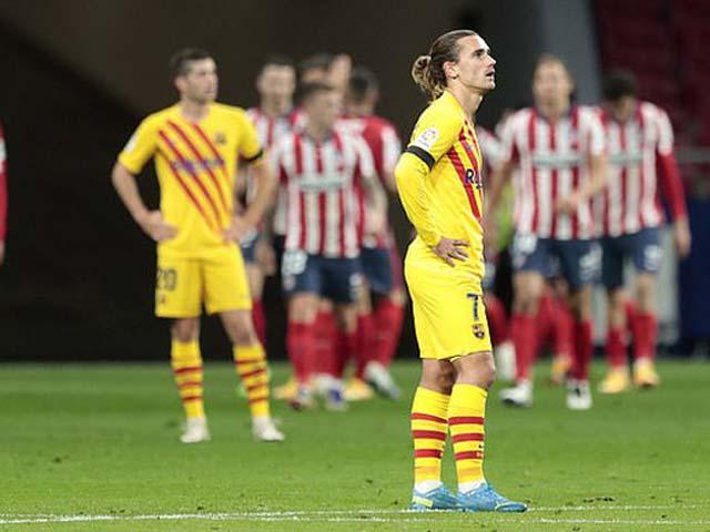 Tin HOT bóng đá tối 22/11: Barca chơi tệ nhất trong 25 năm