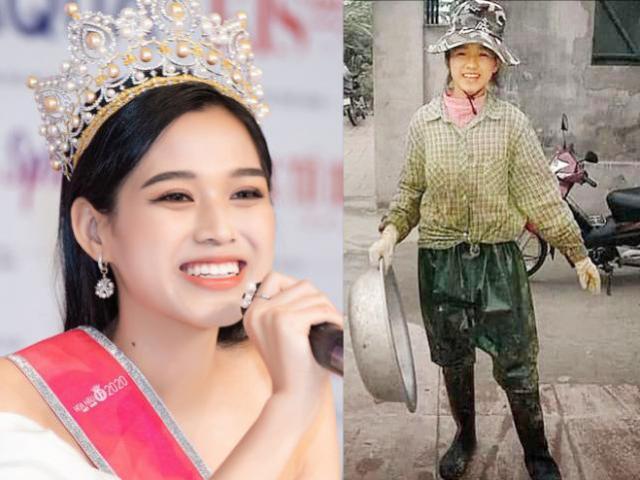 """Lộ cơ ngơi ở quê của Hoa hậu Việt Nam 2020 Đỗ Thị Hà sau ảnh """"cô gái nông dân"""" gây sốt"""