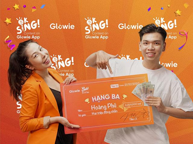 Glowie App chính thức công bố các giải thưởng cuộc thi của các ngôi sao năm 2020