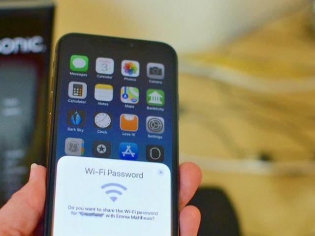 Hướng dẫn chia sẻ mật khẩu Wi-Fi bí mật và nhanh chóng trên iOS