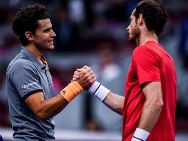 "Murray chỉ ra sai lầm của Djokovic, Thiem ""đe dọa"" hai siêu sao tennis"