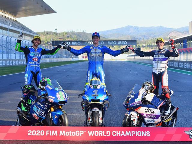 MotoGP racing, Portuguese GP: 3 new champions revealed, Oliveira lowered the season