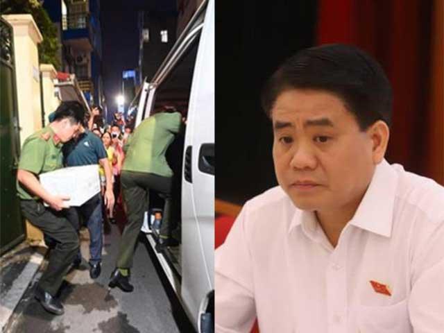 Bộ Công an đã thu giữ những gì tại nơi ở và làm việc của ông Nguyễn Đức Chung?